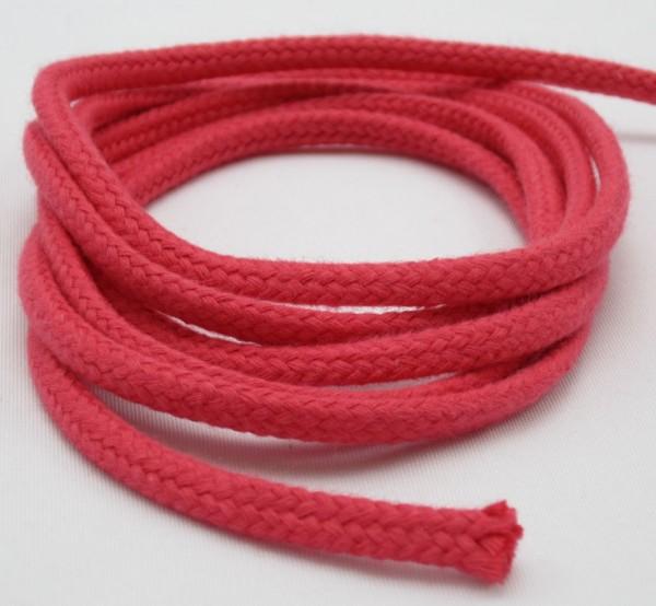 Baumwollkordel geflochten, 6mm, 26 Farben verfügbar