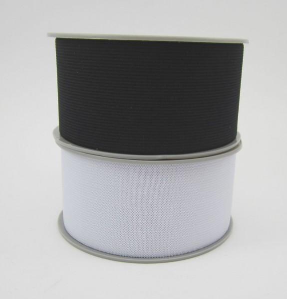Maschenfestes Gummiband 60mm breit - 2 Farben lieferbar