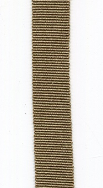 Ripsband 15mm hellbraun