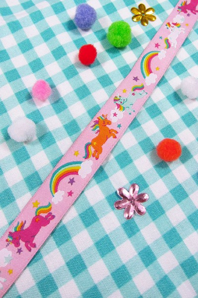 Rainbow Unicorns, rosa - mint