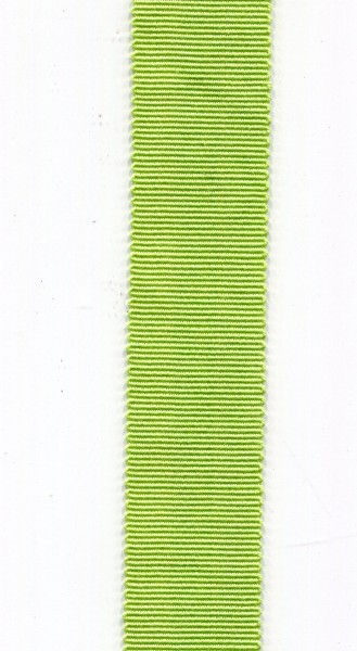 Ripsband 15mm hellgrün