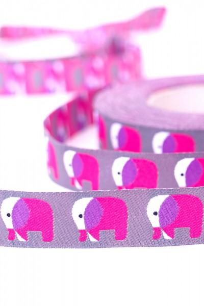 Elefanten , pink