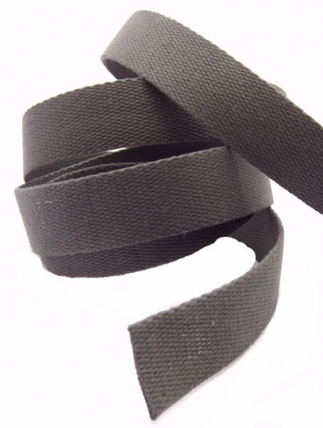 Gurtband, Baumwolle, 4 Farben lieferbar, 30mm breit