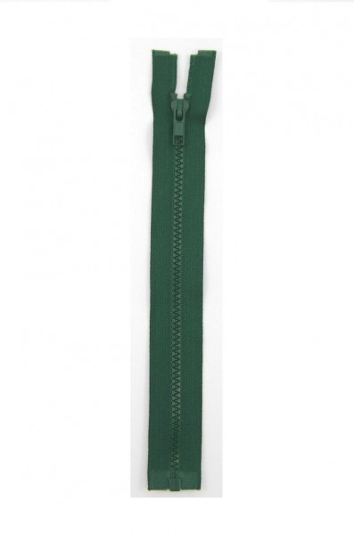 Jackenreißverschluss grün