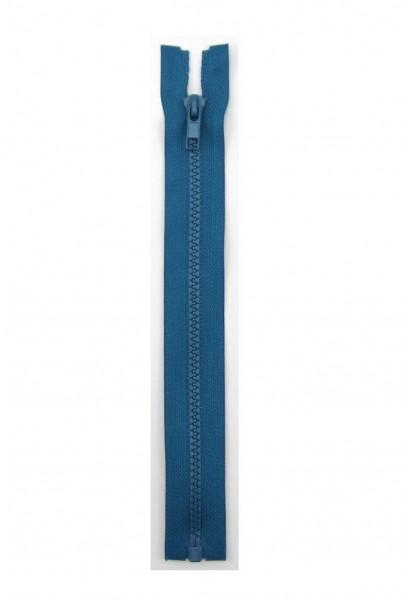 Jackenreißverschluss blau