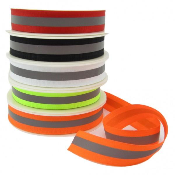 Reflektierendes Band, 25mm breit