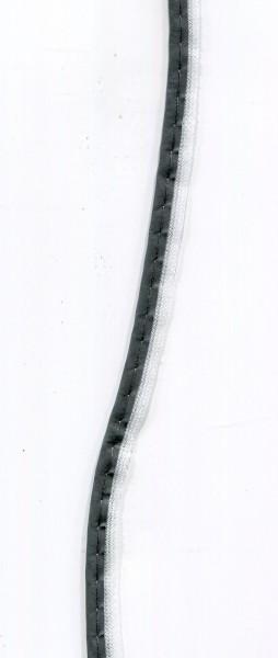 Reflektierende Paspel grau