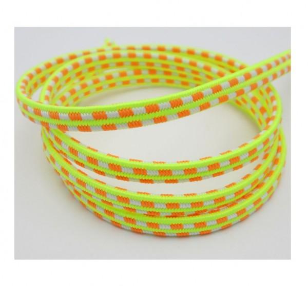 Gummiband mit Rechteckmuster, 10mm breit, 8 Farben lieferbar