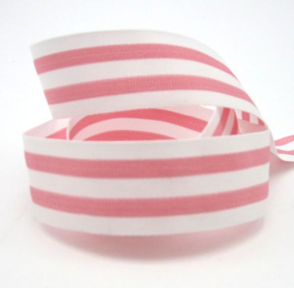 Streifenband, Ripsband, 25mm, 20 Farben lieferbar