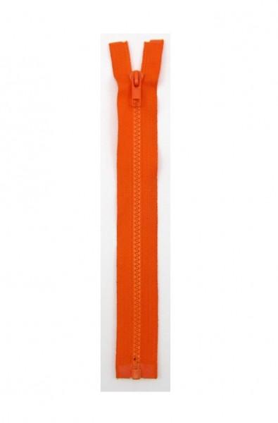 Jackenreißverschluss orange