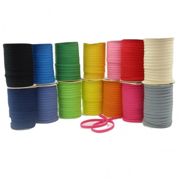 Spaghettiträger, 7mm breit, 18 Farben zur Auswahl