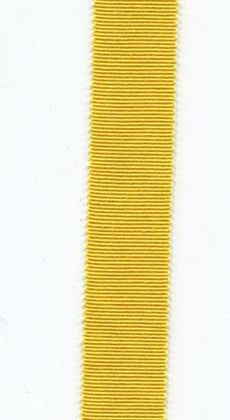 Ripsband 15mm gelb