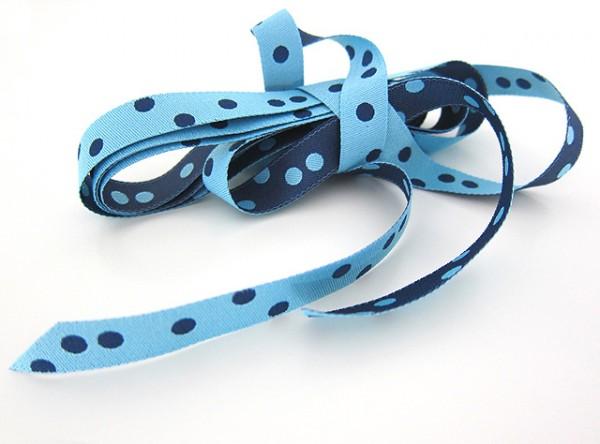 Punkteband, hellblau