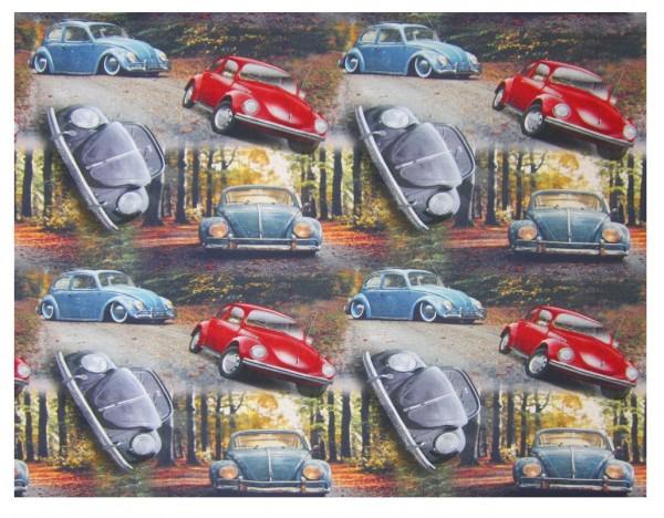 Wälder, Bäume, Alte Autos, Volkswagen