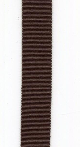 Ripsband 15mm braun