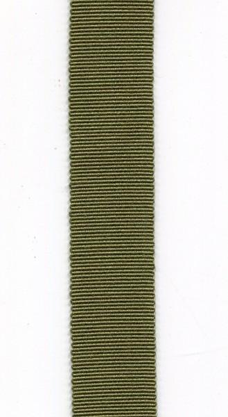 Ripsband 15mm olivgrün