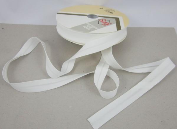 Schrägband elastisch,18mm, 19 Farben