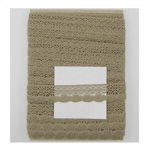 Spitze Baumwolle, 30mm, 6 Farben lieferbar