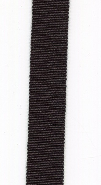 Ripsband 15mm schwarz