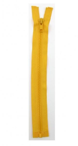 Jackenreißverschluss gelb