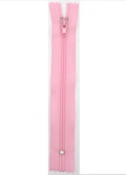 Reißverschluss nicht teilbar rosa