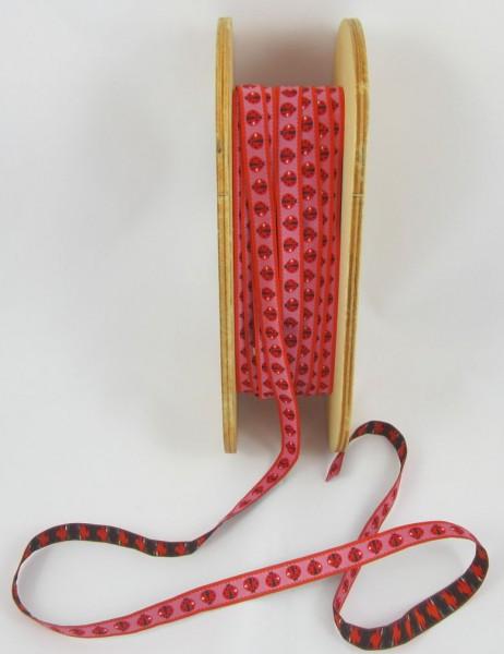 Ladybird candy 12mm breit, rot